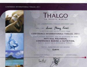 Thalgo Training